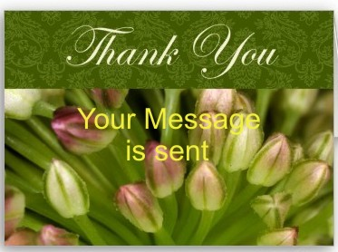 Thank you very much for your message